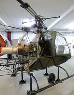 F-BNAY - Sud-Ouest SO.1221S Djinn at the Hubschraubermuseum (helicopter museum), Bückeburg