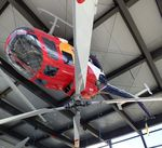 D-HTDM - MBB Bo 105CB-4 at the Hubschraubermuseum (helicopter museum), Bückeburg - by Ingo Warnecke