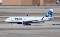 N715JB @ KLAS - Airbus A320-232