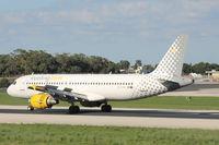 EC-KHN @ LMML - A320 EC-KHN Vueling - by Raymond Zammit