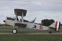 N32517 @ KOSH - Dayton-Wright DH.4 Liberty  C/N 12459, N32517
