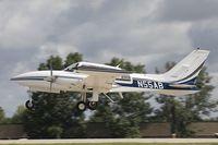 N55AB @ KOSH - Cessna T310R  C/N 310R0038, N55AB