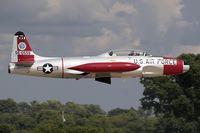 N133KK @ KOSH - Canadair T-33 Shooting Star Pearl 1  C/N T33-556, N133KK