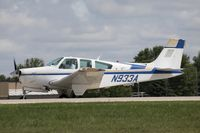 N933A @ KOSH - Beech F33A Bonanza  C/N CE1568, N933A