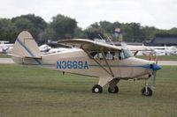 N3669A - Piper PA-22-135 Tri-Pacer  C/N 22-1928, N3669A