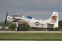 N65164 @ KOSH - Douglas EA-1E Skyraider  C/N 55-471DH, N65164