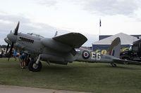 N35MK @ KOSH - De Havilland DH-98 Mosquito TT35  C/N RS-712, NX35MK