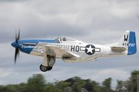 N51VL @ KOSH - North American F-51D Mustang, c/n: 122-40196, NL51VL