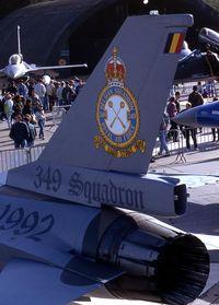 FA-25 @ EBBE - SPECIAL COLORS.349 SQD.