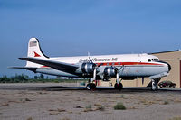 N44909 @ KL07 - N44909   Douglas C-54R-15-DO Skymaster [27371] (Seafood Resources Intl) Chandler-Memorial Airfield~N 16/10/1984