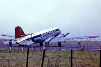 G-AMPY - G-AMPY   Douglas DC-3C-47B-15-DK [15124/26569] (Air Atlantique) (Place unknown) @1986