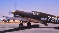 N5672N @ MCE - Merced fly-in 6-63 - by Clayton Eddy