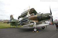 N2AD - Douglas AD-1 Skyraider Bad News  C/N 09257, N2AD