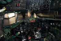 448 @ SCIM - Inside the cockpit of a DC 3.