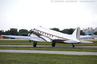 N472AF @ KOSH - Douglas DC3C-S1C3G  C/N 13485, N472AF