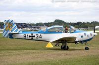 N156FW @ KOSH - Focke-Wulf FWP-149D  C/N 156, N156FW