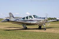 N335HP @ KOSH - Beech F33A Bonanza  C/N CE1663, N335HP