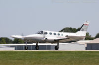 N340CF @ KOSH - Cessna 340A  C/N 340A0001, N340CF