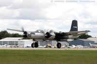 N26BP @ KOSH - Douglas A-26B Invader  C/N 7072, NL26BP