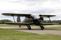 N265E @ KOSH - Beech D17S Staggerwing   C/N 4940, NC265E