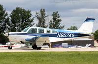 N6074S @ KOSH - Beech A36 Bonanza 36  C/N E-778, N6074S