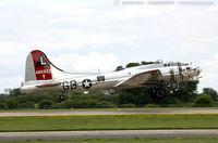 N3193G @ KOSH - Boeing B-17G Flying Fortress Yankee Lady  C/N 77255 - Yankee Air Museum, N3193G