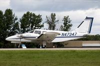 N47347 @ KOSH - Piper PA-34-200T Seneca II  C/N 34-7770387, N47347