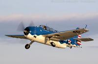 N683G @ KOSH - Grumman TBM-3E Avenger  C/N 53768 - Tom Buck, NL683G