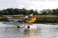 N98761 @ KOSH - Piper J3C-65 Cub  C/N 18992, N98761 - by Dariusz Jezewski www.FotoDj.com