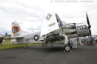 N65164 - Douglas EA-1E Skyraider  C/N 55-471DH, N65164