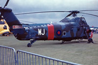XS676 @ EGVP - XS676   Westland WS.58 Wessex HC.2 [WA195] (Royal Air Force) AAC Middle Wallop~G @16/07/1988