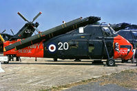 XS866 @ EGUS - XS866   Westland WS.58 Wessex HAS.1 [WA246] (Royal Navy) RNAS Lee-on-Solent~G @ 06/06/1983