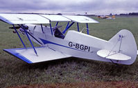 G-BGPI @ EGTC - G-BGPI   Plumb BGP.1 [PFA 083-10359] Cranfield~G @ 04/07/1998 - by Ray Barber