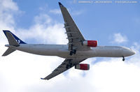 LN-RKM @ KEWR - Airbus A330-343 - Scandinavian Airlines - SAS  C/N 496, LN-RKM - by Dariusz Jezewski www.FotoDj.com