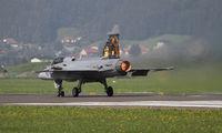 9236 @ LOXZ - full afterburner, taking off from Zeltweg - by olivier Cortot