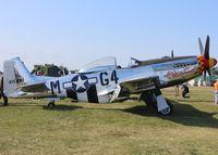 N51KB @ KOSH - North American P-51D