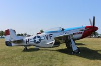 N551TM @ KOSH - North American P-51D Replica