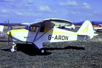 G-ARON @ EGHS - G-ARON   Piper PA-22-108 Colt [22-8822] Henstridge~G 12/04/1987 - by Ray Barber