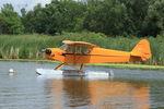N98761 @ 96WI - 946 Piper J3C-65 Cub, c/n: 18992 - by Timothy Aanerud