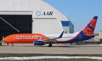 N861AM @ KRFD - Boeing 737-83N