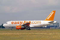 G-EZIX @ LFBO - G-EZIX   Airbus A319-111 [2605] (easyJet) Toulouse-Blagnac~F 14/07/2011