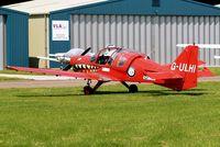 G-ULHI @ EGBP - G-ULHI   Scottish Aviation SA.120-101 Bulldog [BH120/148] Kemble~G 10/08/2012