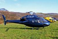 G-OLCP @ EGBC - G-OLCP   Eurocopter AS.355N Ecureuil II [5580] (Charterstyle Ltd) Cheltenham Racecourse~G 18/03/2005
