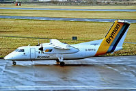 G-BRYG @ EGPE - G-BRYG   De Havilland Canada DHC-8-102A Dash 8 [237] (Brymon Airways) Inverness (Dalcross)~G 03/05/1987