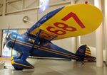 N17687 - Monocoupe D-145 at the Wedell-Williams Aviation and Cypress Sawmill Museum, Patterson LA