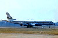 JA8006 @ EGLL - JA8006   Douglas DC-8-33 [45626] (Japan Air Lines) Heathrow~G 07/07/1974
