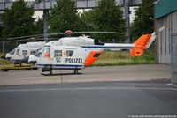 D-HNWO @ EDDL - Eurocopter BK-117C1 - NRW Polizei NRW - 7552 - D-HNWO - 04.07.2016 - EDDL - by Ralf Winter