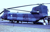 ZA714 @ EGHH - ZA714   Boeing Vertol CH-47C Chinook HC.1 [B845/M7005] (Royal Air Force) Bournemouth (Hurn)~G @ 01/06/1986