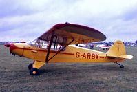 G-ARBX @ EGBK - G-ARBX   Piper PA-18-150 Super Cub [18-7355] Sywell~G 02/07/1978