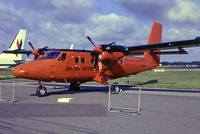 VP-FBB @ EGLF - VP-FBB   De Havilland Canada DHC-6-300 Twin Otter [783] (British Antarctic Survey) Farnborough~G @ 04/09/1986
